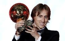 Vượt Ronaldo, Modric đoạt Quả bóng vàng 2018