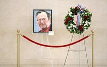 Ông Bush 'con' tiễn biệt cha bằng bức họa chân dung