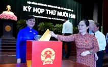 TP.HCM: Bà Trương Thị Ánh đạt nhiều phiếu tín nhiệm cao nhất