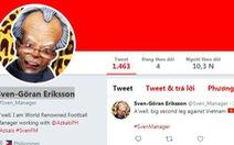 HLV Eriksson viết status đầu tiên trước trận lượt về với Việt Nam