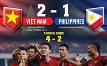 Việt Nam áp đảo về cơ hội ghi bàn