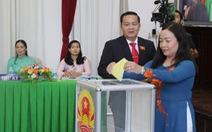 Chủ tịch, phó chủ tịch HĐND TP Cần Thơ đạt 53/53 phiếu tín nhiệm cao