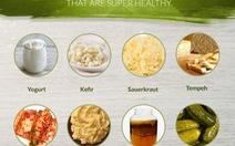 11 thực phẩm chứa probiotic có lợi cho sức khỏe