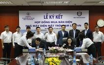 EVN ký kết hợp đồng mua bán điện với Công ty Cam Lam Solar