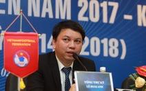 Ông Lê Hoài Anh tiếp tục giữ chức tổng thư ký VFF khóa 8