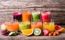 Sử dụng nước ép trái cây cho trẻ