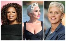 Oprah Winfrey, Lady Gaga... là phụ nữ quyền lực nhất Hollywood 2018