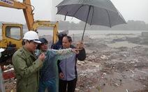 Mưa lớn kéo dài, Đà Nẵng tốc lực đào kênh thoát nước