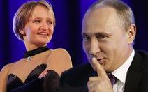 Con gái út ông Putin lộ diện trên truyền hình Nga?