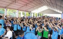Sôi động Ngày hội quốc tế những người tình nguyện
