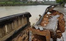 Mưa lớn gây sạt lở nhiều điểm tại Quảng Trị