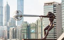 Những bức điêu khắc 'lơ lửng' độc đáo trên thế giới