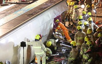 Lật xe buýt ở Hong Kong, 19 người chết