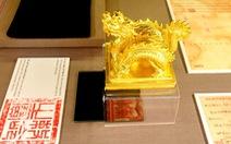 Không gian trưng bày về vua Minh Mạng ở Hiếu Lăng