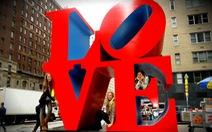 Bức tượng chữ LOVE nổi tiếng ở Mỹ