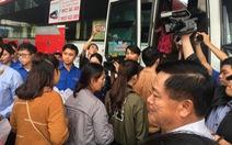 """Các bến xe """"xuất quân"""" chở 1,6 triệu khách dịp tết Nguyên Đán 2018"""
