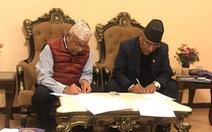 Hai đảng Cộng sản ở Nepal liên kết thành siêu đảng để cầm quyền