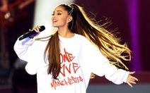 Ariana Grande hủy biểu diễn tại Brit Awards