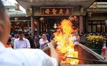 Đốt vàng mã du nhập từ Trung Quốc