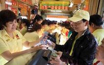 Thị trường vàng 'nóng' trước ngày vía Thần Tài