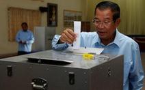 Vắng phe đối lập, đảng cầm quyền Campuchia giành trọn phiếu