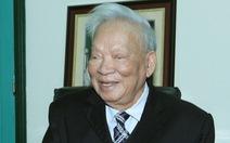 Nguyên Chủ tịch nước - Đại tướng Lê Đức Anh từ trần ở tuổi 99
