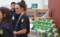 Úc tóm lô hàng ma túy đá 80 triệu đô từ Trung Quốc