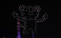 Bí mật của bữa tiệc ánh sáng từ drone tại Olympic mùa đông