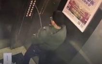 Tè bậy trong thang máy, cậu bé Trung Quốc nhận cái kết đắng