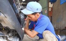 Tiệm sửa xe của người rời xa những tháng ngày lêu têu