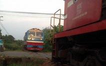 Hai tàu lửa suýt tông nhau: chưa rõ ai lỗi