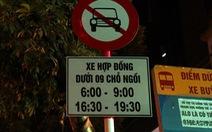 Hà Nội chính thức đề xuất cấm Grab, Uber ở 11 tuyến phố