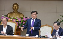 'Các bộ trưởng chuyển động không đều trong cải cách'