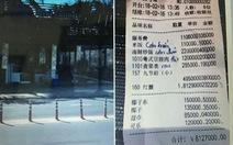 Phát hiện nhà hàng tính tiền bằng tiếng Trung hoạt động 'chui'