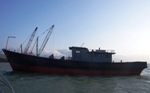Phát hiện 'tàu ma' có chữ Trung Quốc ở biển Thừa Thiên - Huế