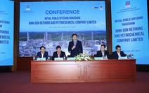 Bình Sơn hé lộ nhà đầu tư chiến lược mua cổ phần Lọc dầu Dung Quất