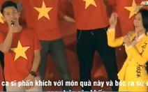 Clip Công Phượng lấy son của Hồng Duy tặng Mỹ Tâm 'nóng' trên mạng