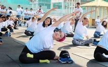 'Chiến binh' ung thư hào hứng nhảy flashmob