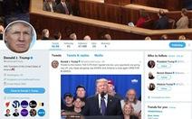 Blogger hốt hoảng vì giả Trump viết tweet ăn theo vụ chứng khoán tụt dốc
