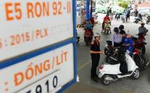 TP.HCM kiến nghị chế tài các cơ sở không thực hiện nghiêm việc bán xăng E5