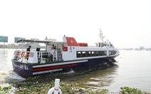 Tàu cao tốc TP HCM - Cần Giờ - Vũng Tàu miễn vé cho thương binh, trẻ em