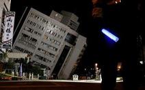 Động đất rung chuyển Đài Loan, 2 người chết, 200 người bị thương
