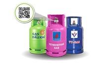 Nội trợ hiện đại dùng ứng dụng nhận biết gas chính hãng