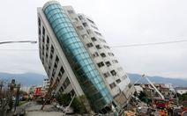Thót tim với động đất ở Đài Loan