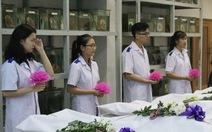 Tri ân 'người thầy thầm lặng' của sinh viên y khoa