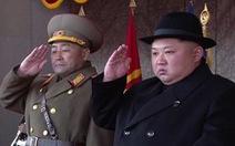 Triều Tiên lại đưa tên lửa Hwasong-15 ra duyệt binh