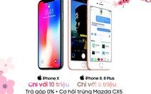 Sắm iPhone X trả góp tại FPT Shop chỉ với 10 triệu đồng