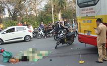 Nam thanh niên bị xe buýt cán tử vong tại Hà Nội