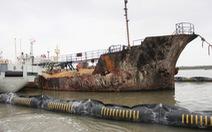Không có dấu hiệu xăng của tàu Hải Hà 18 tràn ra biển