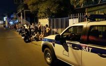 Nhiều tiếng nổ nghi truy sát ở Tân Phú
